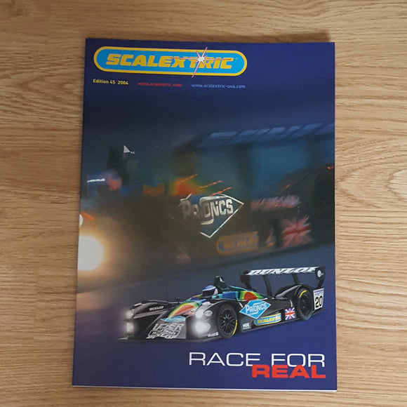 Scalextric Catalogue Literature Magazine - Edition 45  2004  75 Pages