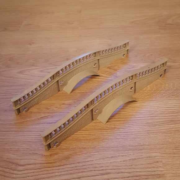 Scalextric Classic Track - Hump back bridge C248 - Grey Coloured #E