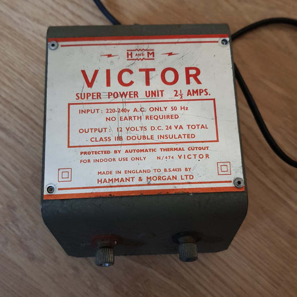 H&M Victor Power Pack Transformer 12v (No Plug)