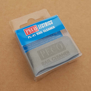 PECO PL-41 Rail Cleaner Rubber for Scalextric Track or Hornby Rail Track NEW - Action Slot Racing