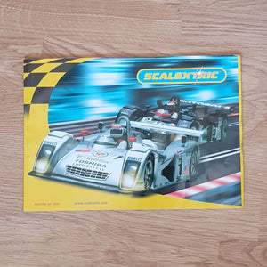 Scalextric Catalogue Literature Magazine - 2001 Edition 42
