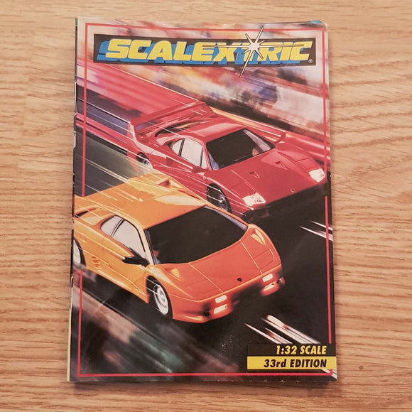Scalextric Catalogue Literature Magazine - 1992 33rd Edition A5 Size