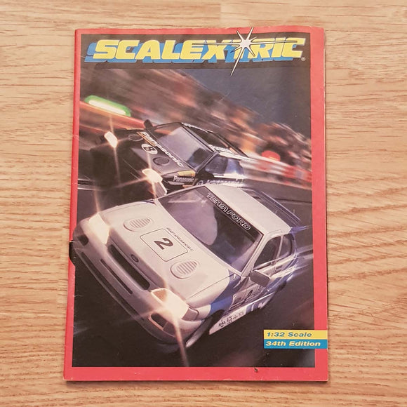 Scalextric Catalogue Literature Magazine - C507 1993 34th Edition A5 Size