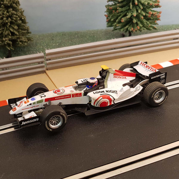 Scalextric 1:32 Digital Car - C2715 F1 Honda Jenson Button #12