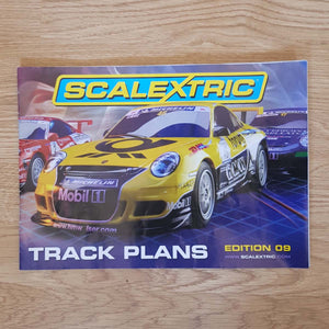 Scalextric Catalogue Literature Magazine - C8331 Edition 09 - Track Plans