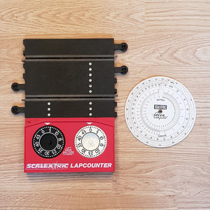 Scalextric Classic Lap Counter Timer Track C272 & C276 Speed Computer #A