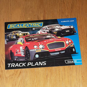 Scalextric C8334 Edition 10 - Track Plans
