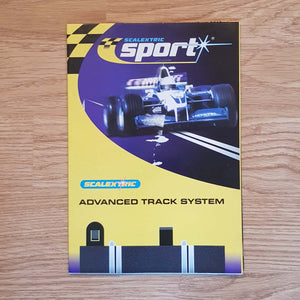 Scalextric Sport 1:32 Track Lane Circuit Layout Plans  - Wall Chart M4177