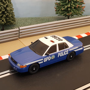 Scalextric Car Suitable For 1:32 Track - Batman Gotham Police Car #Z