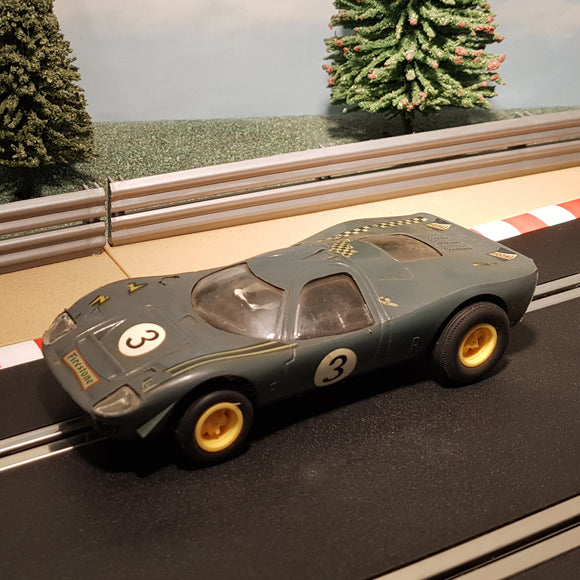 Scalextric 1:32 Car - C15 FORD MIRAGE in GREEN #3 #Z