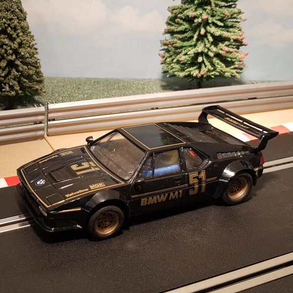 Scalextric 1:32 Car - C347 Black BMW M1 #51 #Z