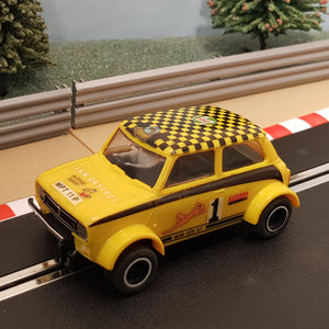 Scalextric 1:32 Car - Yellow Mini 1275 GT #1 #G