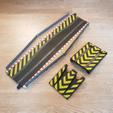 Scalextric Sport 1:32 Track - C8246 Hatched Chicane, Ramp & Borders #A