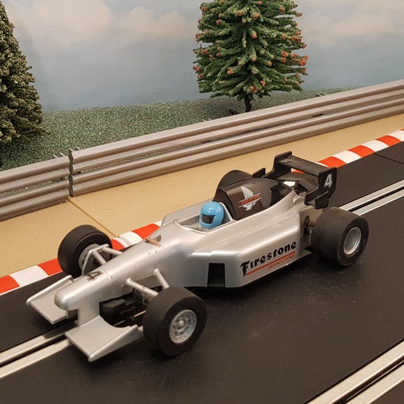 Scalextric 1:32 Car - C2318 Firestone Silver F1 #4 #Z