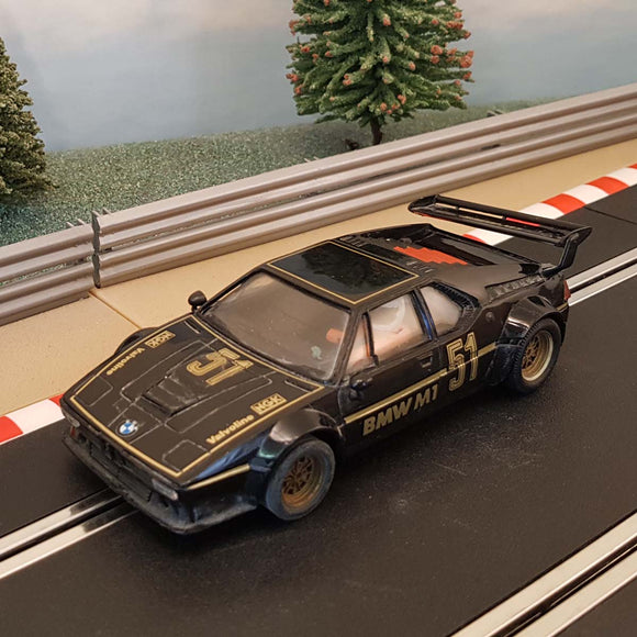 Scalextric 1:32 Car - C347 Black BMW M1 #51 #Z1