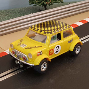 Scalextric 1:32 Car - C122 Yellow Mini 1275 GT #3 #Z4