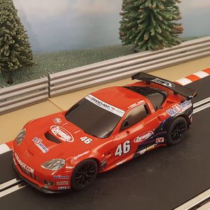 Scalextric 1:32 Car - Red 2013 Corvette C6R #46 #MW