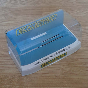 Scalextric 1:32 Car Crystal Display Case - White Base NEW