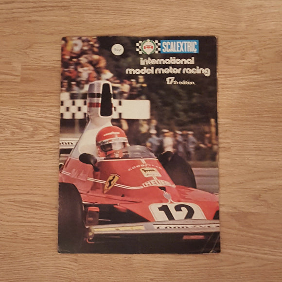 Scalextric Catalogue Literature Magazine - C502 17th Edition