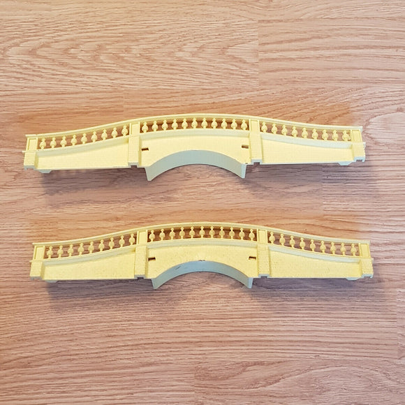 Scalextric Classic Track - Hump back bridge C248 - YELLOW #E