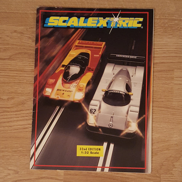 Scalextric Catalogue Literature Magazine - C525 1991 32nd Edition A4 Size