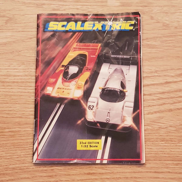 Scalextric Catalogue Literature Magazine - C525 1991 32nd Edition A5 Size  #A