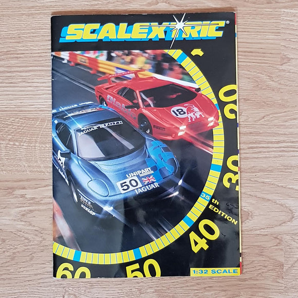 Scalextric Catalogue Literature Magazine - C503 1994 35th Edition A5 Size