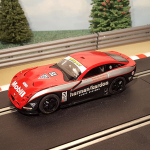 Scalextric 1:32 Car - C2532W TVR T400R Harman / Kardon #51 *LIGHTS* #MGS