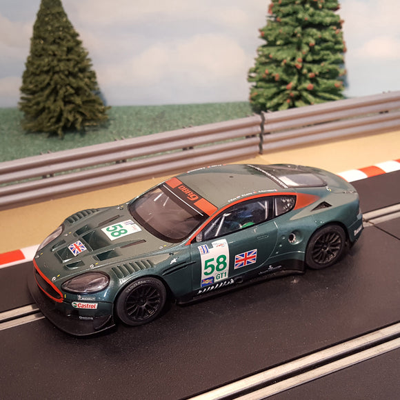 Scalextric 1:32 Digital Car - C2758D Aston Martin DBR9 #58 *LIGHTS* #MS