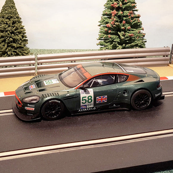 Scalextric 1:32 Digital Car - C2758D Aston Martin DBR9 #58 *LIGHTS* #S