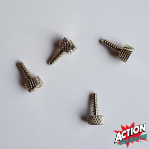 Scalextric Pack Of 4 Base Screws To Hold Cars In Position In Crystal Cases #A