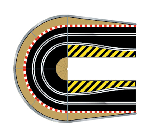 Scalextric Sport 1:32 Track - C8512 Extension Pack 3 - Hairpin