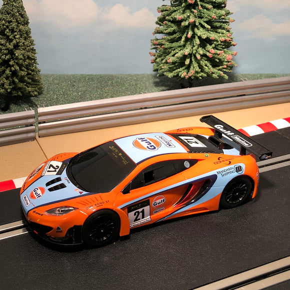 Scalextric 1:32 Car - C3287 McLaren MP4-12C GT3 Gulf #21 #MW