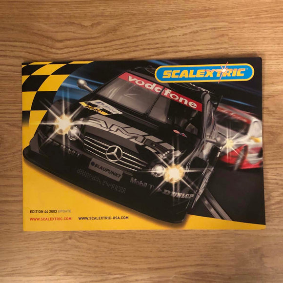 Scalextric Catalogue Literature Magazine - 2003 Edition 44 UPDATE