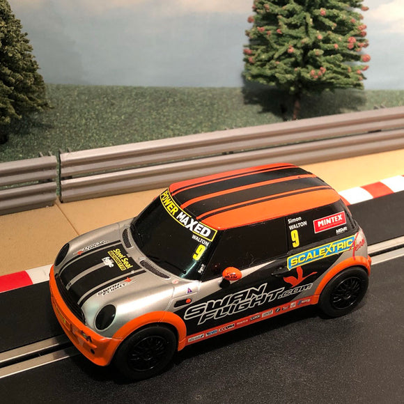 Scalextric 1:32 Car - Mini Cooper - Scalextric Team - Walton #9