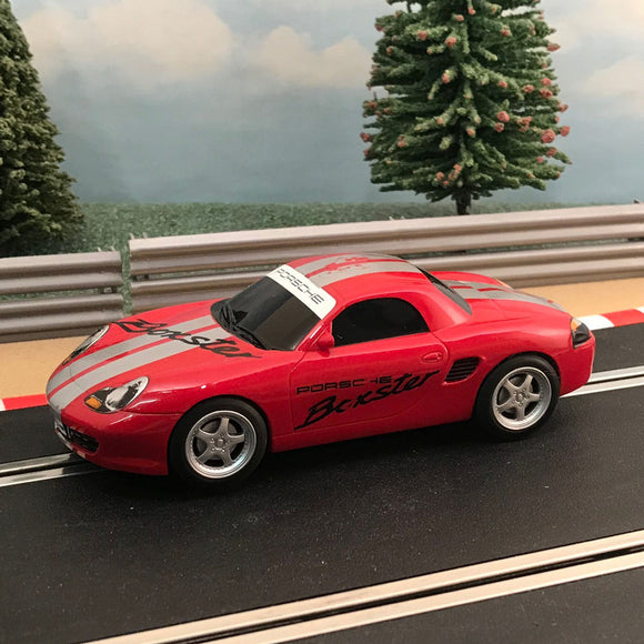 Scalextric 1:32 Digital Car - Red Porsche Boxster #Z