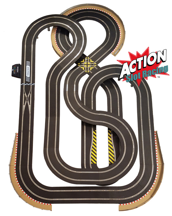 Scalextric Sport 1:32 Track Set - Huge Layout Digital ARC Pro AS5 #Q
