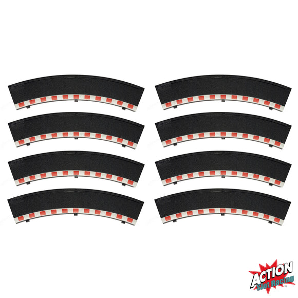 Scalextric 1:32 Sport Borders - Black Outer x 8