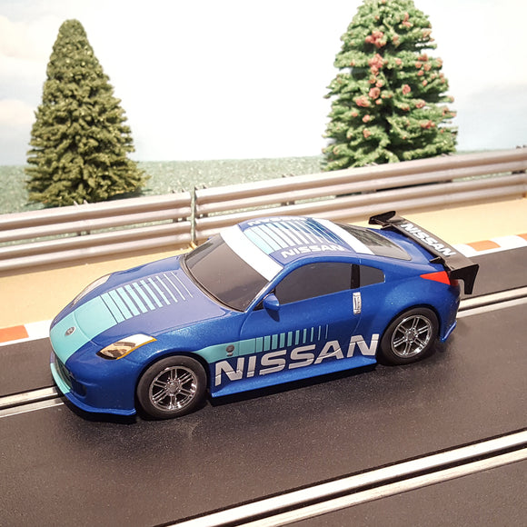 Scalextric 1:32 Digital Drift Car - Blue Nissan 350Z #A