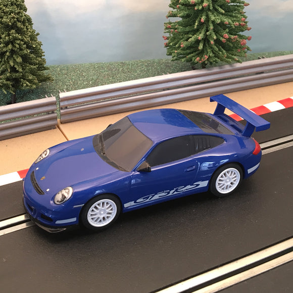 Scalextric 1:32 Car - Blue Porsche GT3RS #A