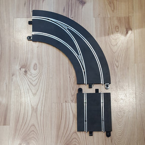 Scalextric Digital 1:32 Track C7009 Lane Changing Curve Left Hand In To Out #E