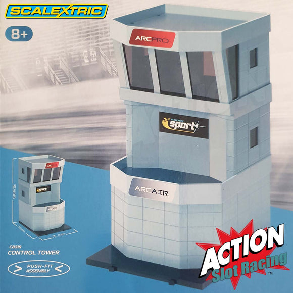 Scalextric 1:32 Building - C8319 Control Tower *Latest Version* NEW