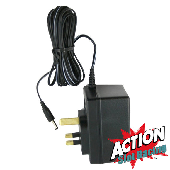 Hornby Scalextric Mains Power Supply Transformer Adaptor  C990  16v - Action Slot Racing
