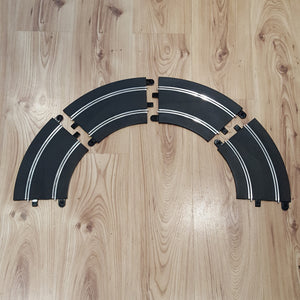 Scalextric Sport 1:32 Track C8296 'CB' Rad2 45º Banked Curves x 4