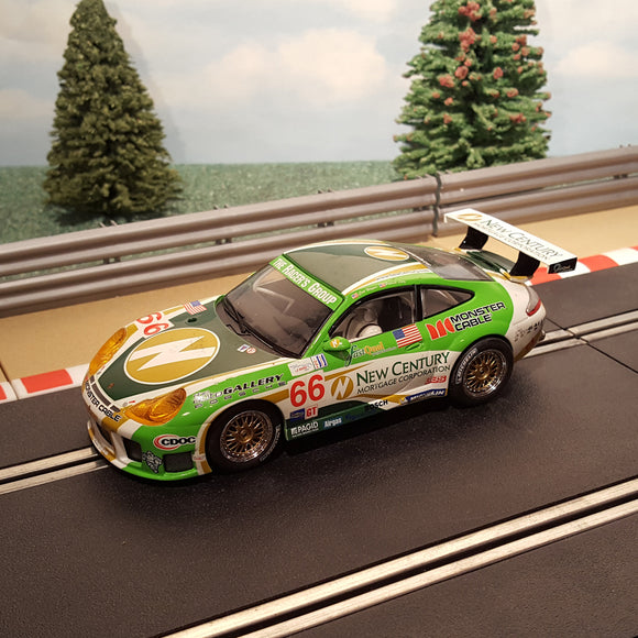 Scalextric 1:32 Digital Car - C2665D Porsche 911 GT3R #66 New Century LIGHTS #G