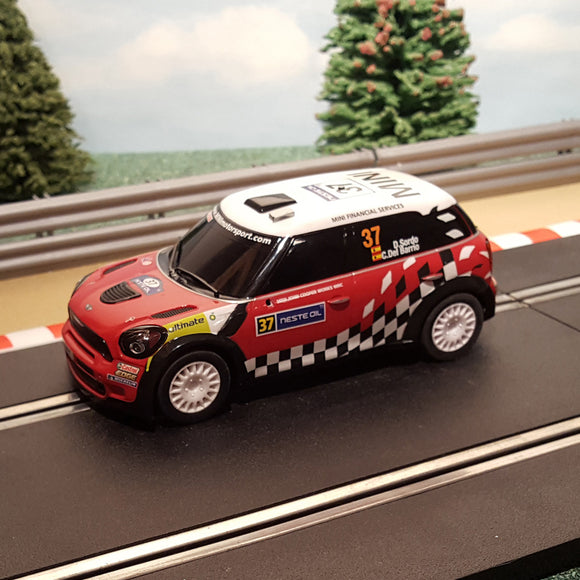 Scalextric 1:32 Car - C3301 Mini Countryman WRC - D Sordo #37 #MS