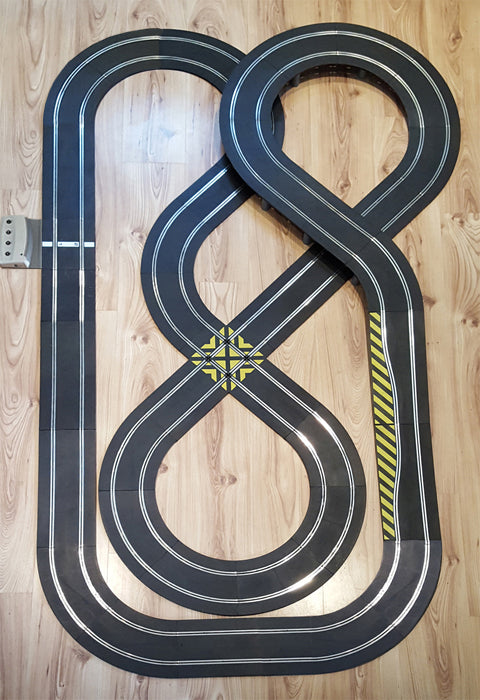 Scalextric Sport 1:32 Track Set - Double Figure-Of-Eight Layout DIGITAL #NB
