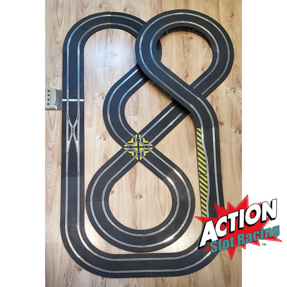 Scalextric Sport 1:32 Track Set - Double Figure-Of-Eight Layout DIGITAL #NBQ