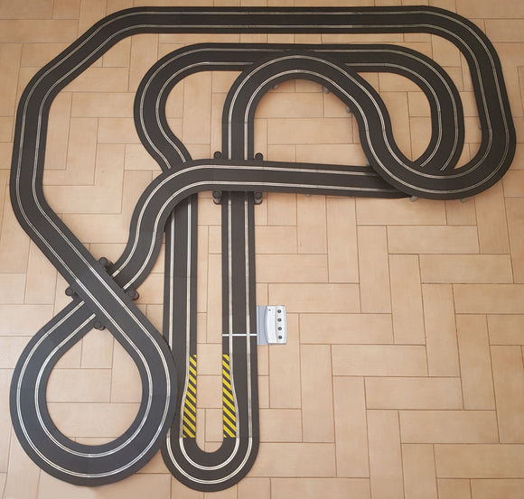 Scalextric Sport 1:32 Track Set - Huge Layout DIGITAL AS8