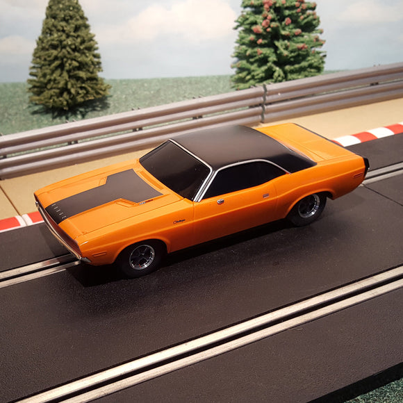 Scalextric 1:32 Car - Orange Dodge Challenger - Fast & Furious #A